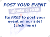 Click here to Post an Event for Free!